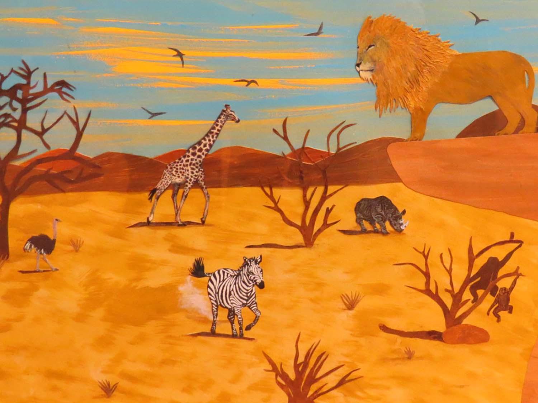 INMED OC -- Nelda's Illustration - Animal Village @ B&N