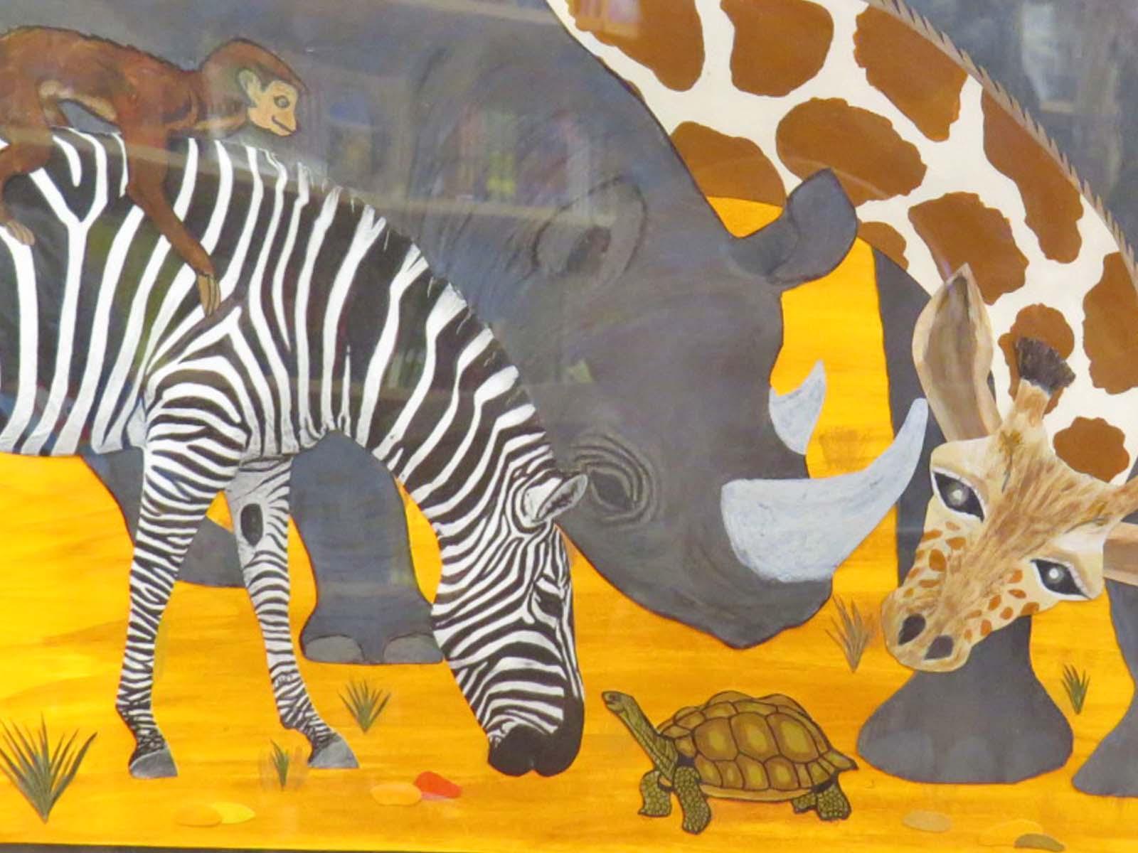 INMED OC - Nelda's Illustration2 - Animal Village @ B&N