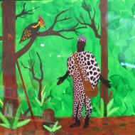 INMED OC - Nelda's Illustration - Hunter & Ebony Tree @ B&N